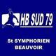 Logo equipe extérieur TAC - HANDBALL SUD DEUX-SEVRES