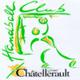 Logo equipe extérieur TAC - HBC CHATELLERAULT - 2